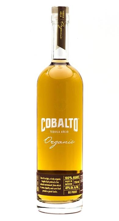 Bottle of Cobalto Añejo Organic