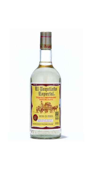 Bottle of El Tequileño Especial Reposado