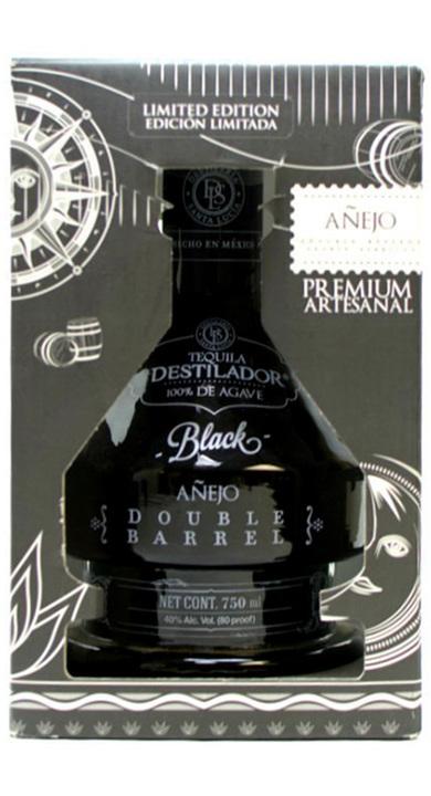 "Bottle of El Destilador ""Black"" Double Barrel Añejo"