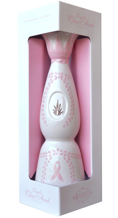 Bottle of Clase Azul Pink Reposado
