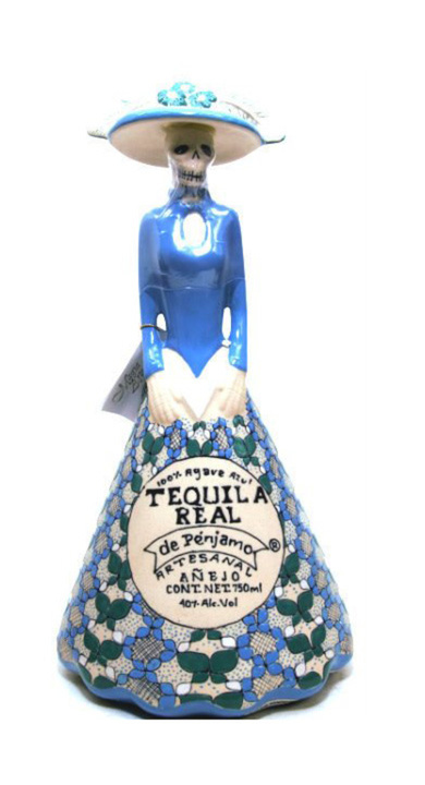 Bottle of Real de Penjamo Añejo (Catrina)
