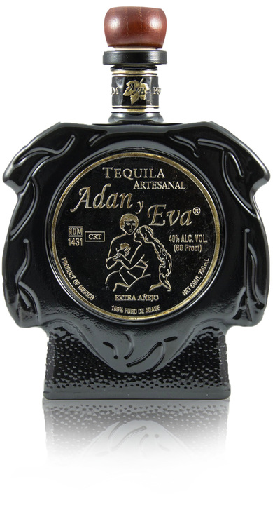 Bottle of Adan y Eva Extra Añejo