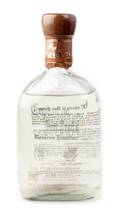 Bottle of Tequila de Don Jesús Blanco