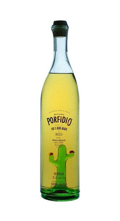 Bottle of Porfidio Reposado Super Jalisco