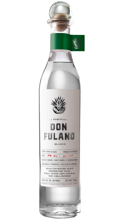 Bottle of Don Fulano Blanco