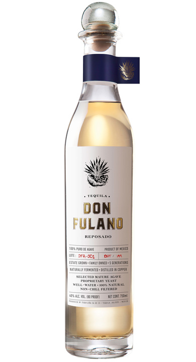Bottle of Don Fulano Reposado