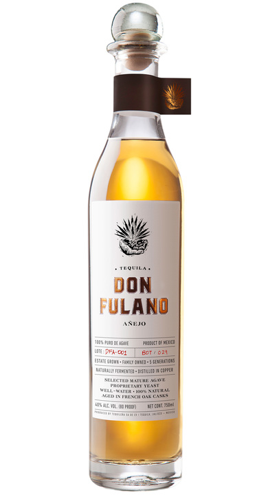 Bottle of Don Fulano Añejo