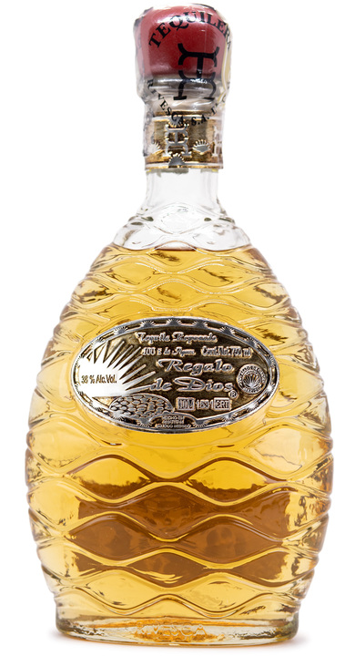 Bottle of Regalo de Dios Tequila Reposado
