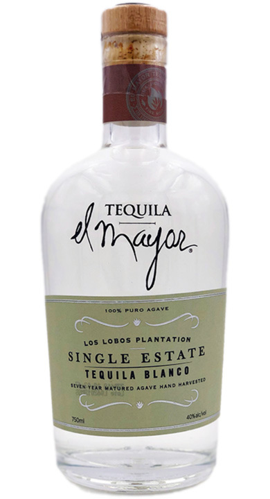 Bottle of El Mayor Single Estate Blanco