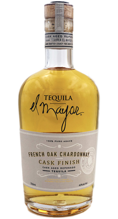 Bottle of El Mayor French Oak Chardonnay Cask Reposado