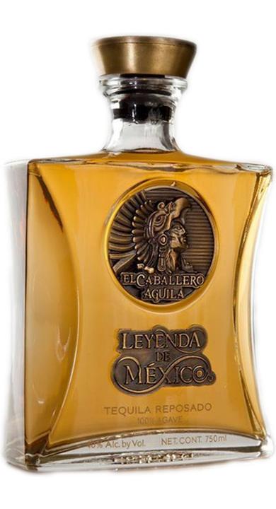 Bottle of Leyenda de Mexico Reposado