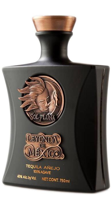Bottle of Leyenda de Mexico Añejo