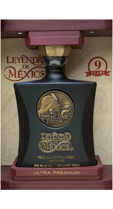 Bottle of Leyenda de Mexico Extra Añejo (9 year)