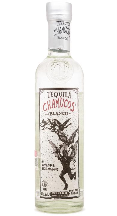 Bottle of Chamucos Blanco