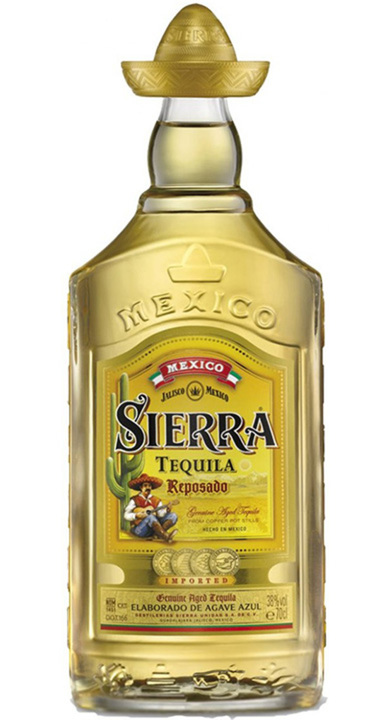 Bottle of Sierra Reposado