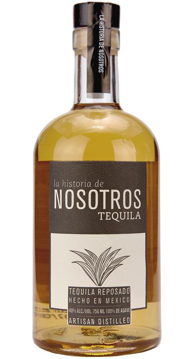 Bottle of Nosotros Tequila Reposado