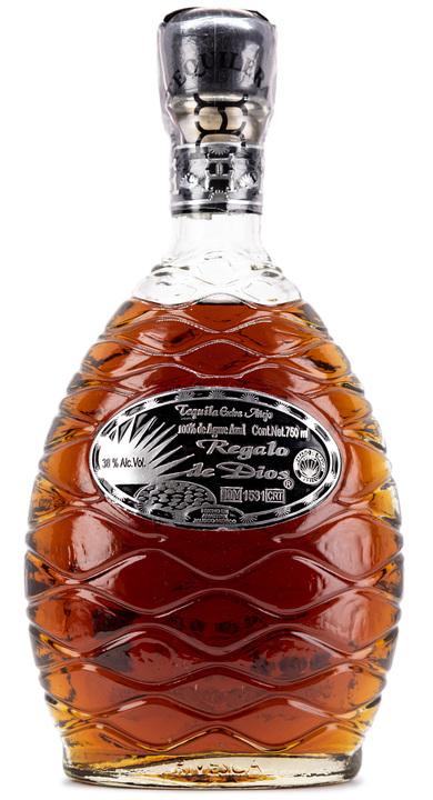 Bottle of Regalo de Dios Tequila Extra Añejo