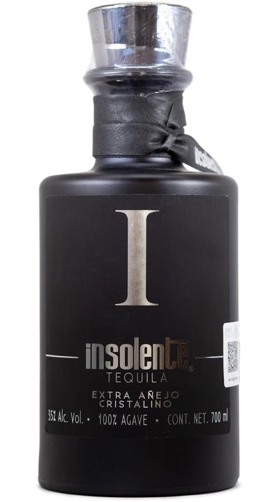 Bottle of Insolente Extra Añejo Cristalino
