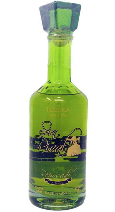 Bottle of Sin Rival Reposado Tequila