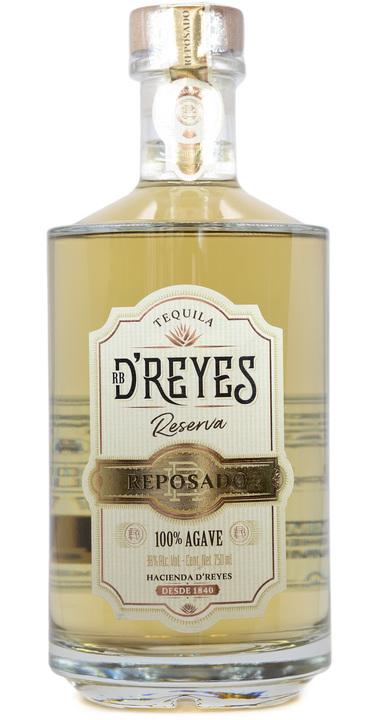 Bottle of RB D'Reyes Reserva Reposado