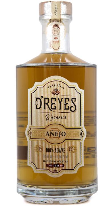 Bottle of RB D'Reyes Reserva Añejo