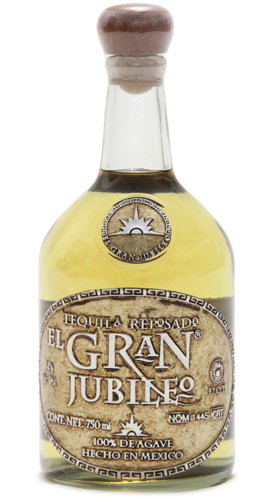 Bottle of El Gran Jubileo Reposado