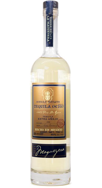 Bottle of Ocho Tequila Extra Añejo - La Magueyera 2014
