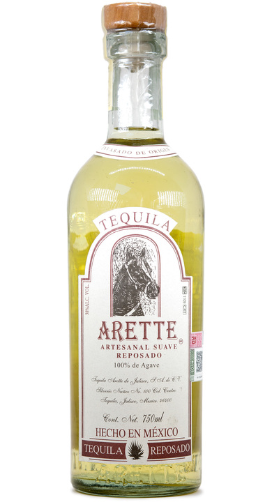 Bottle of Arette Artesenal Reposado Suave
