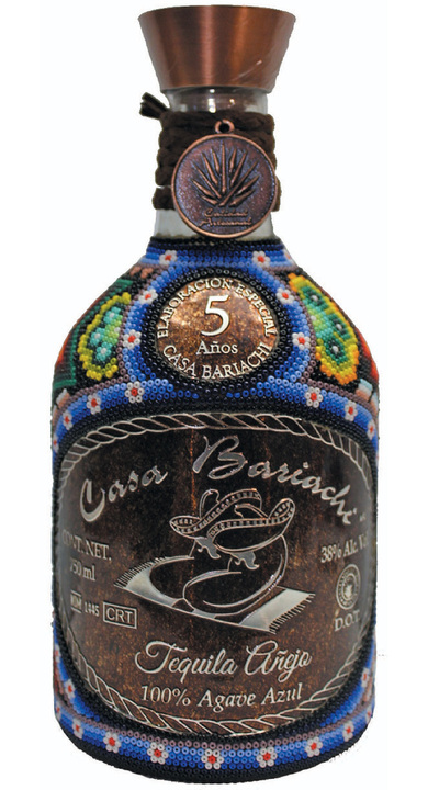 Bottle of Casa Bariachi Añejo (5 Años)