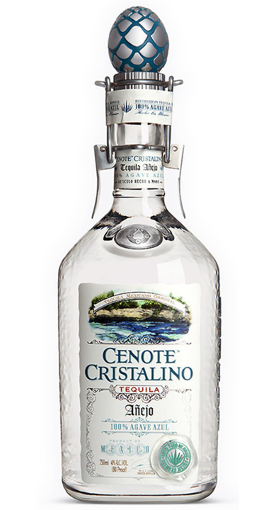 Bottle of Cenote Cristalino Añejo