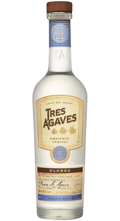 Bottle of Tres Agave Blanco (Organic)