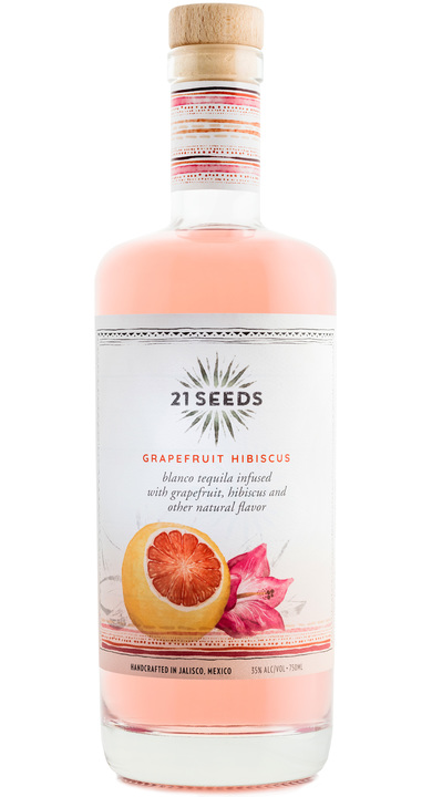 Bottle of 21Seeds Grapefruit Hibiscus