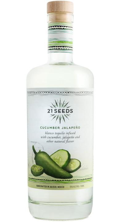 Bottle of 21Seeds Cucumber Jalapeño