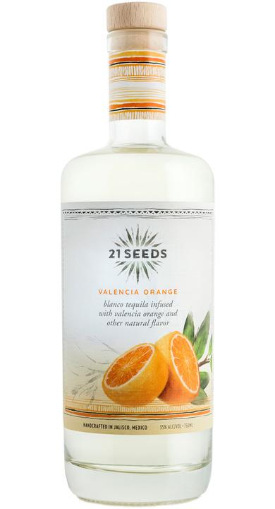 Bottle of 21Seeds Valencia Orange