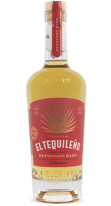 Bottle of El Tequileño Reposado Rare