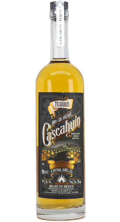 Bottle of Cascahuín Extra Añejo - French Oak