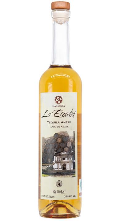 Bottle of Hacienda la Escoba Añejo