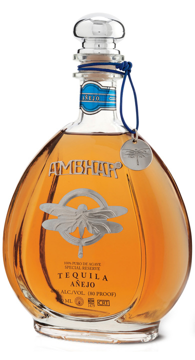 Bottle of Ambhar Añejo