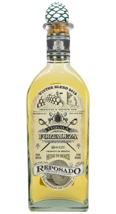 Bottle of Fortaleza Reposado - Winter Blend 2019