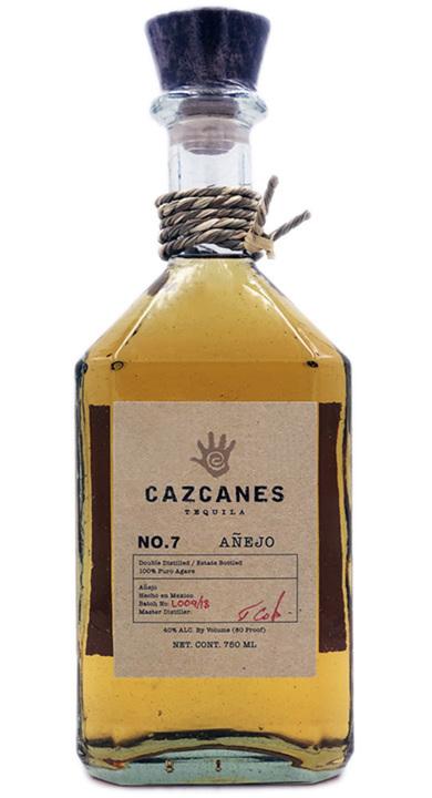 Bottle of Cazcanes No. 7 Añejo