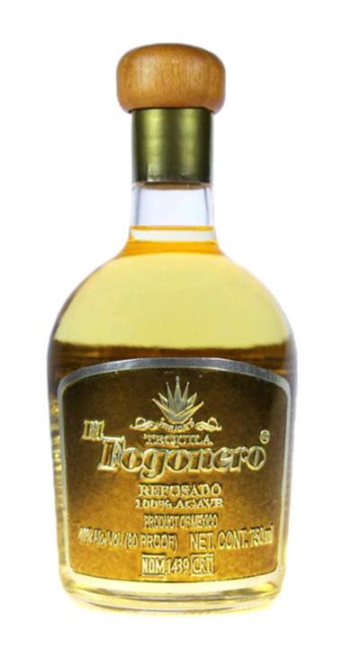 Bottle of El Fogonero Reposado