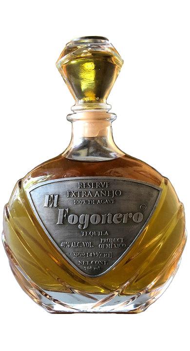 Bottle of El Fogonero 9-Year Extra Añejo Reserve