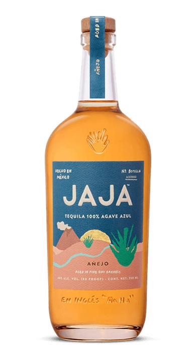 Bottle of JAJA Tequila Añejo