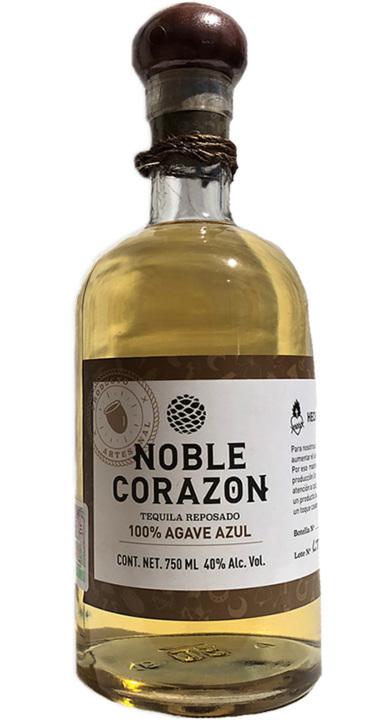 Bottle of Noble Corazon Reposado