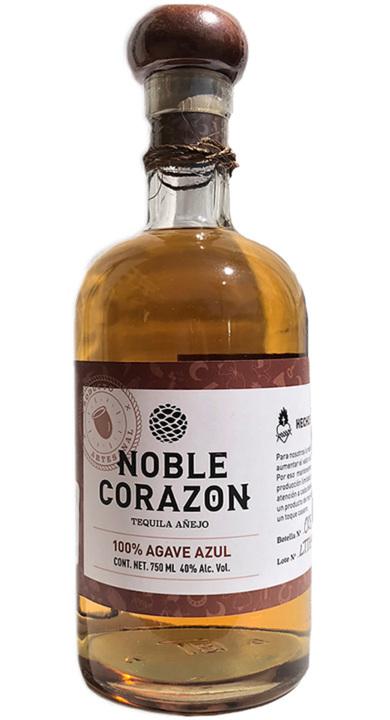 Bottle of Noble Corazon Añejo