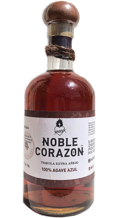 Bottle of Noble Corazon Extra Añejo