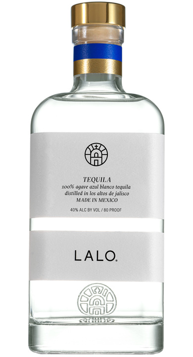Bottle of Lalo Tequila Blanco