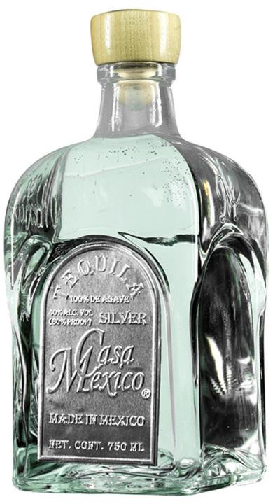 Bottle of Casa Mexico Silver