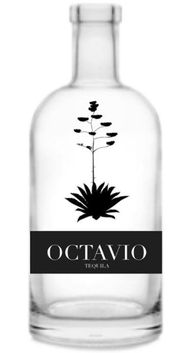 Bottle of Octavio Reposado Cristalino
