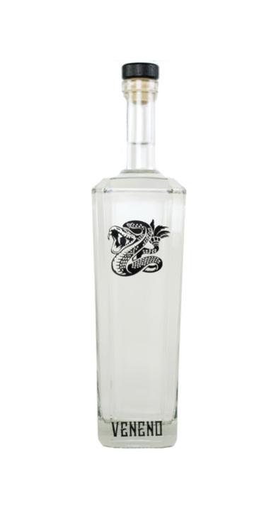 Bottle of Veneno Tequila Blanco